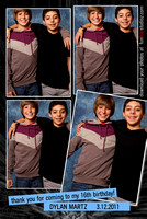 Dylan's 16th Birthday Photo Booth